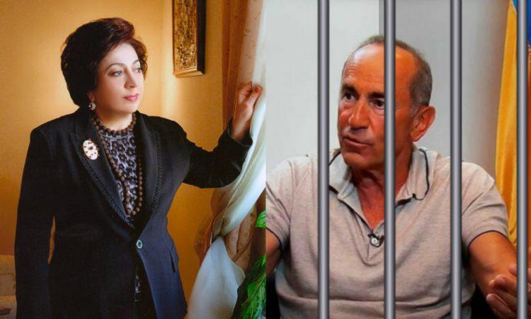 «Շնորհակալ եմ նրանց, ովքեր ոչ մի վայրկյան չկասկածեցին Ռոբերտ Քոչարյանին». Բելլա Քոչարյան: