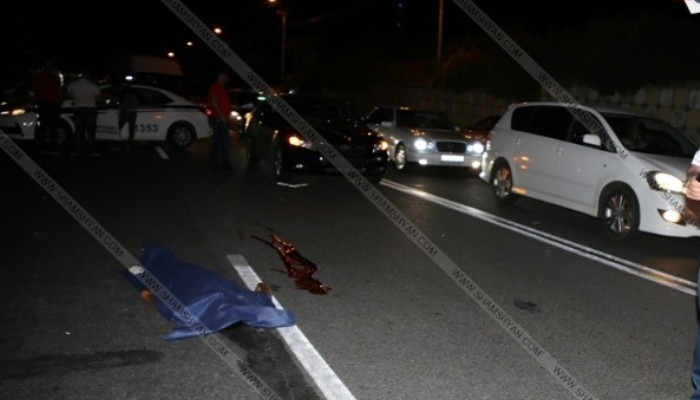 Դժբախտ պատահար. Մահվան ելքով վրաերթ Երևանում