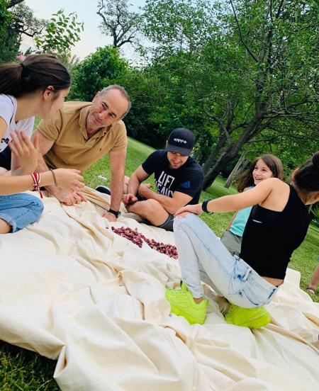 Ռոբերտ Քոչարյանը որդու և թոռնիկների հետ