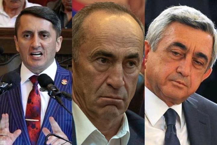 Հայ Հիտլերը լոխի տեղ է դրել Քոչարյանին և Սարգսյանին