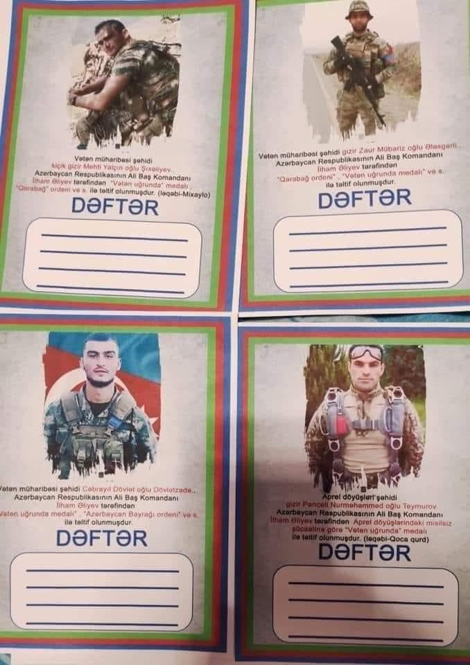 Պատկերացնո՞ւմ եք, եթե… Ադրբեջшնցի դպրոցականների նոր տետրերն են. Արտյոմ Տոնոյան